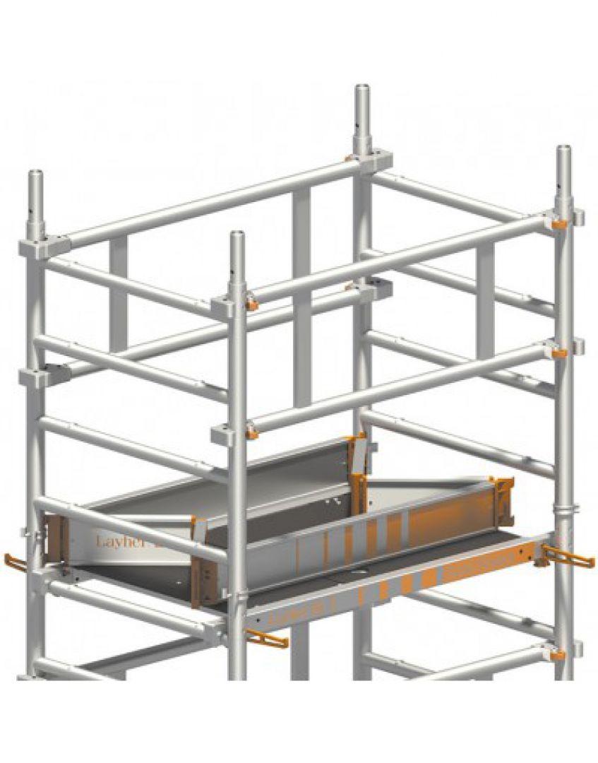 Andaime Móvel de Alumínio SoloTower 4m Plus