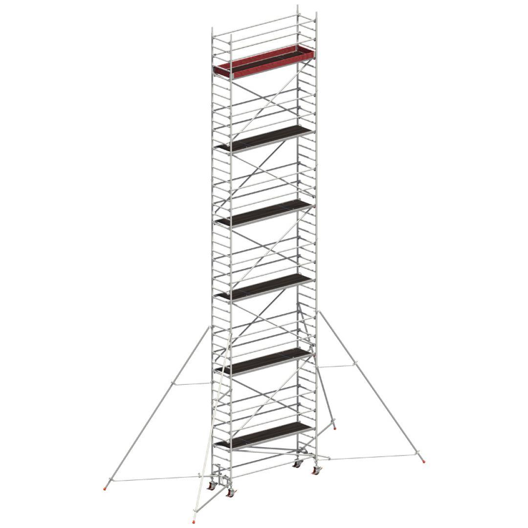 Andaime Móvel de Alumínio Uni-Standard 11m (C/ Estabilizador de 5m)