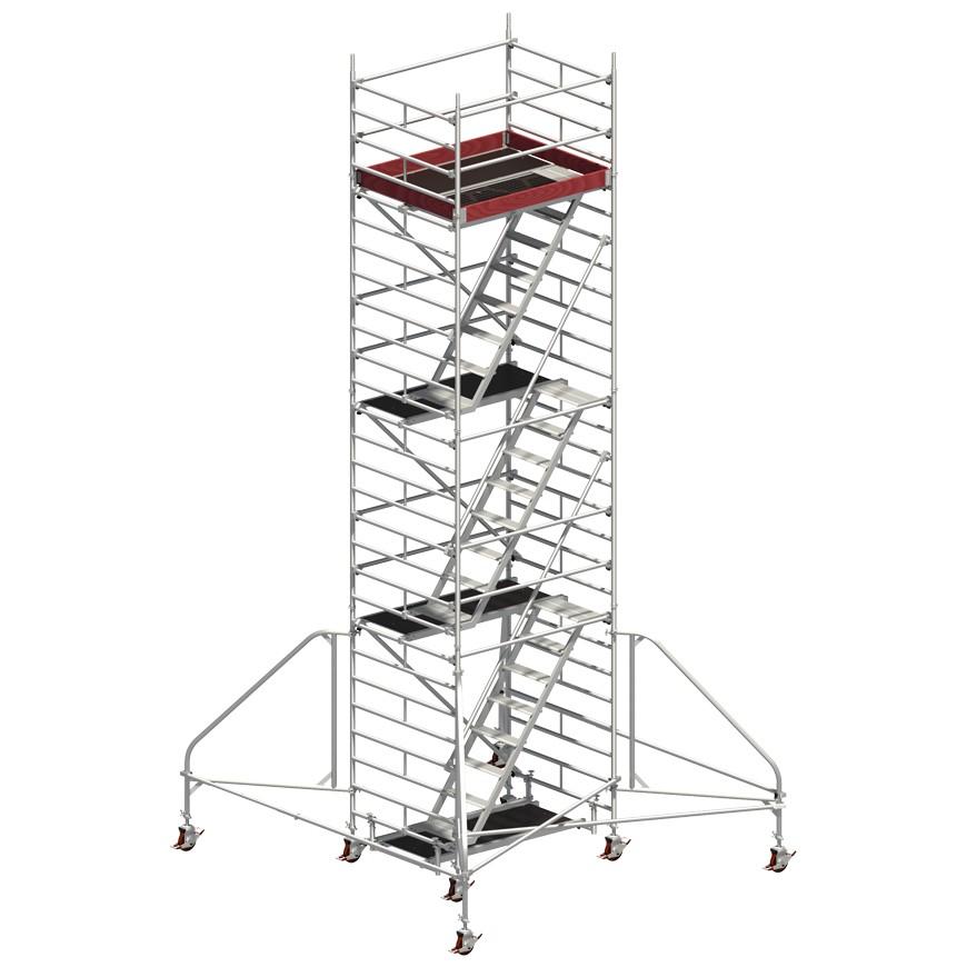 Andaime Móvel de Alumínio Uni-Comfort 6m