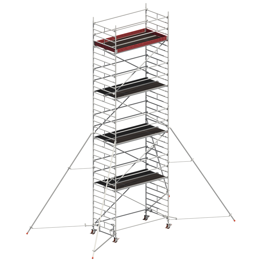 Andaime Móvel Uni-Ancho 8m (C/ Estabilizador de 5m)