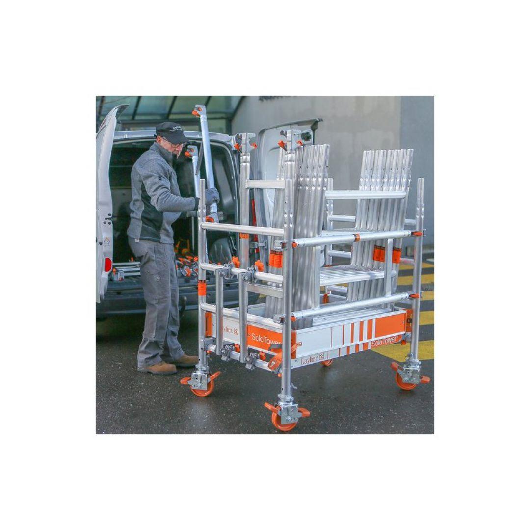 Andaime Móvel de Alumínio SoloTower 2m Plus