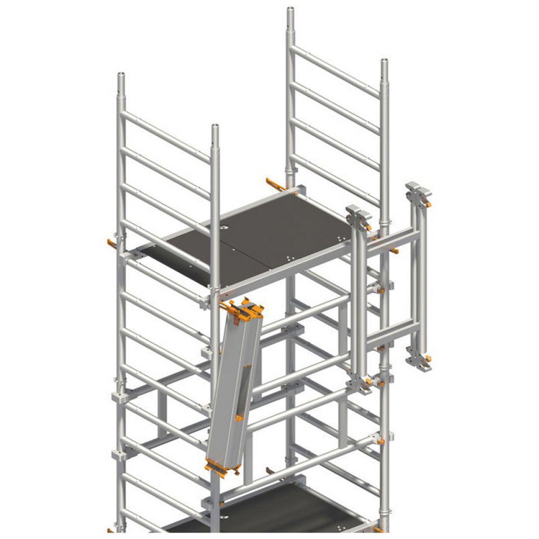 Andaime Móvel de Alumínio SoloTower 3m Plus